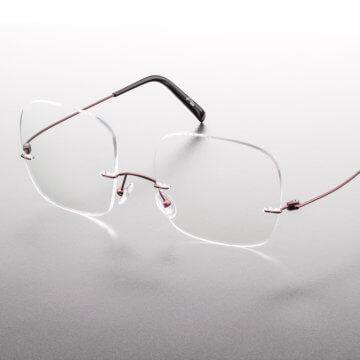 Snookerbrillen.de – Modell Center-Spot von der Seite