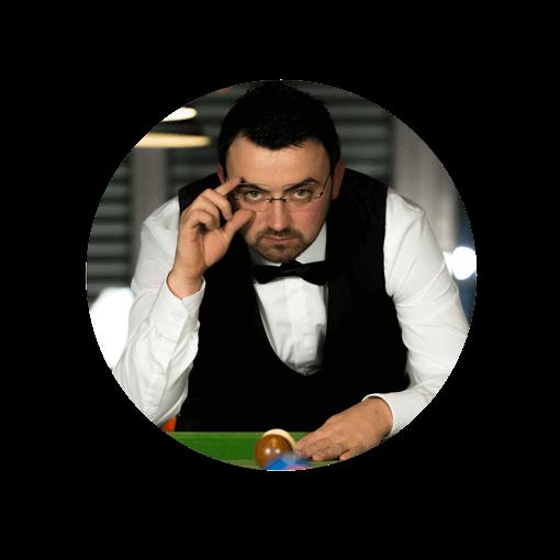 Durchblick am Tisch: Billard und Snooker